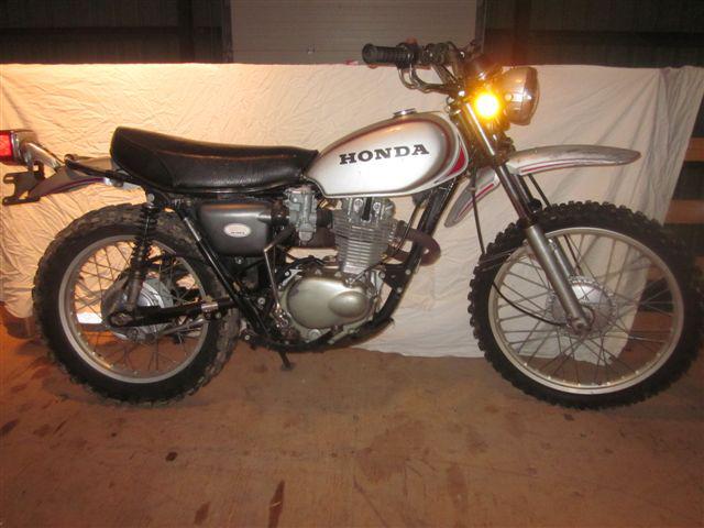 Wharehouse Lg on 1974 Honda 70 Trail Bike